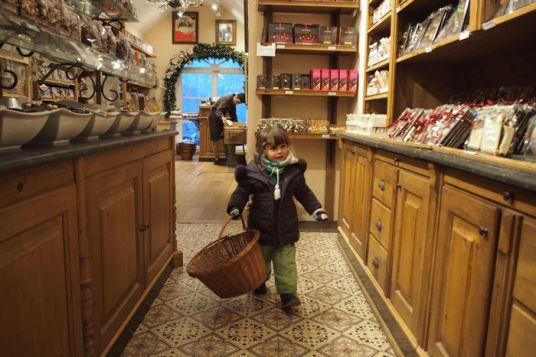 Tienda de chocolates brujas