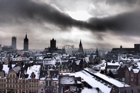 Vistas desde el Castillo de los Condes