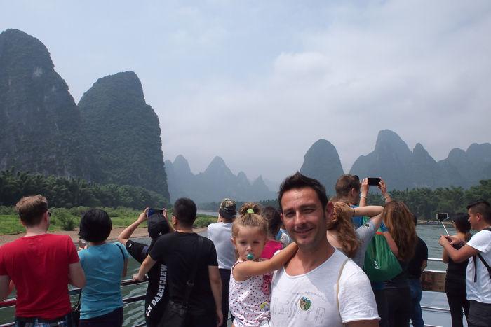 Descubriendo Guilin y la travesía por el Río Li con bebé