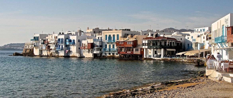"""Mar griego, """"príncipe azul """" de los mares"""