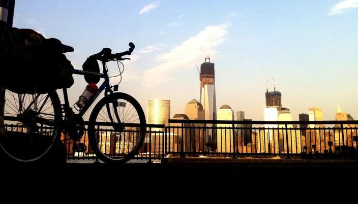 Llegué hasta Nueva York en bicicleta