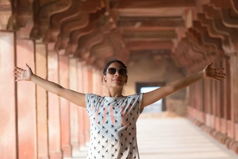 las mujeres y la india