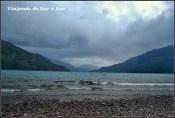 Lago Puelo visto desde el Camping - Argentina