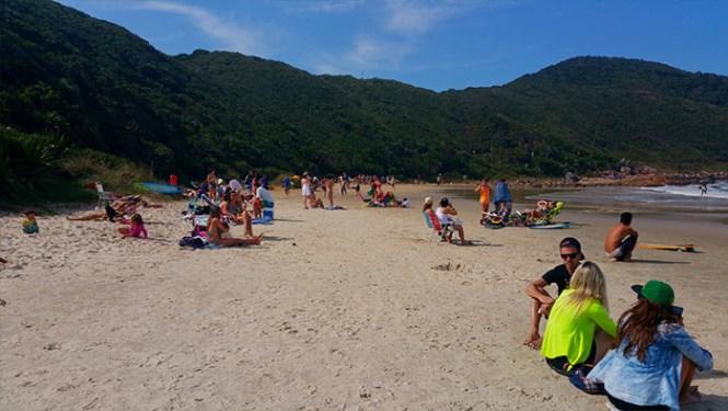 1 - viajando em 3.. 2.. 1.. - Praia do Rosa - Santa Catarina - Imbituba