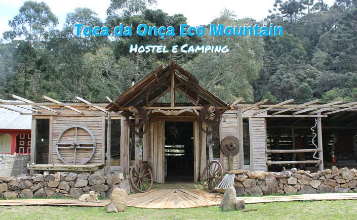 e9e3be25d O Hostel e Camping Toca da Onça Eco Mountain é um daqueles lugares ideal  para chamar os amigos