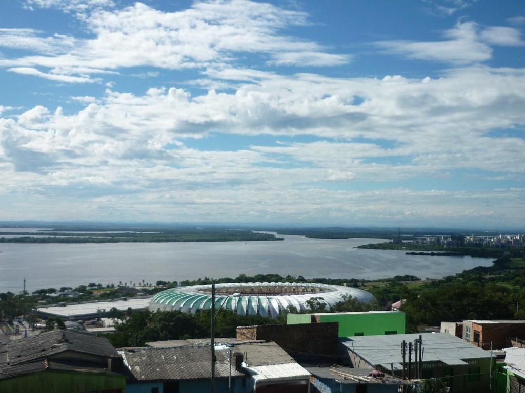 Porto Alegre tiene playas de agua dulce gracias al Río Guaíba