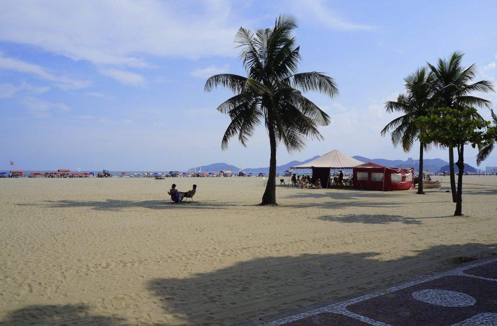 Playa do Gonzaga, Santos