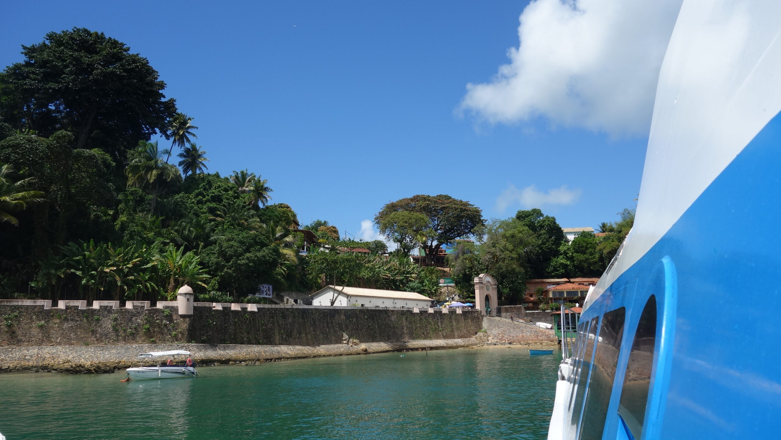 Donde hospedarse en Morro de São Paulo. Llegada a la isla.