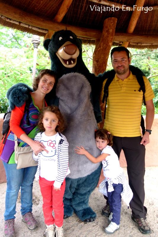 Viajando En Furgo en Disneyland Paris