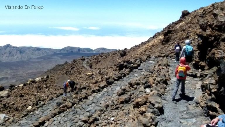 Camino de Pico Viejo