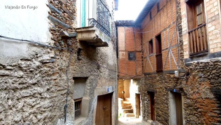 Arquitectura tradicional en Robledillo de Gata