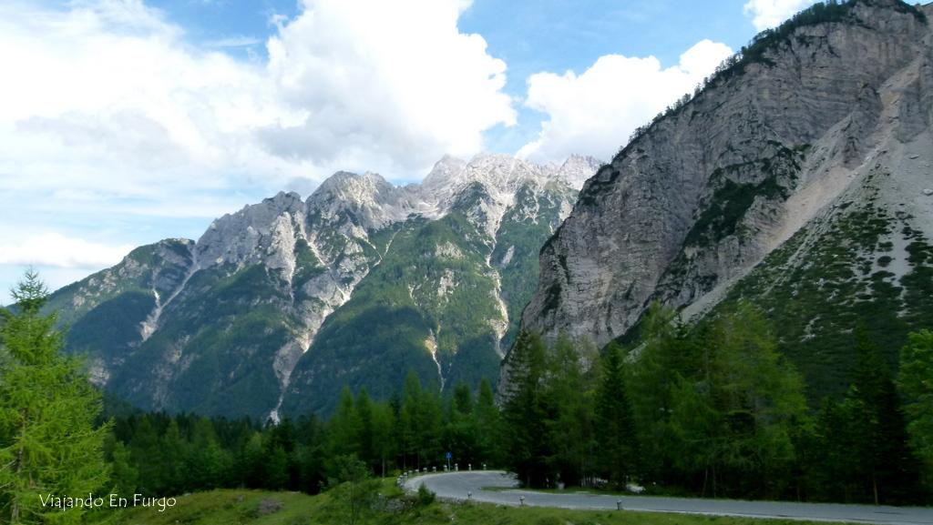 Alpes Eslovenia en furgo