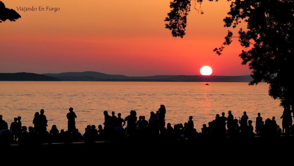 Atardecer en Zadar
