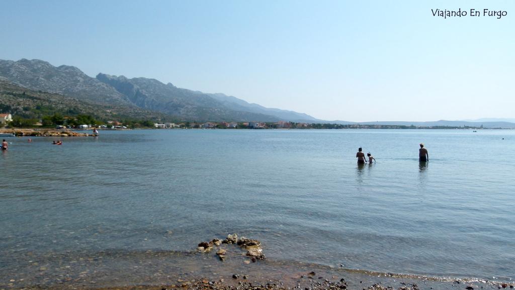 Playa Croacia en Furgo