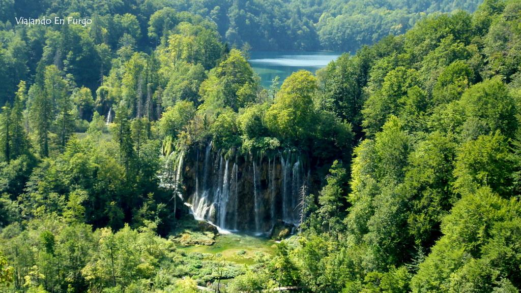 Plitvice Croacia en furgo