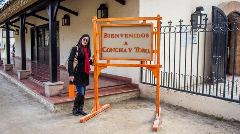 Concha y Toro - Viajando na Janela