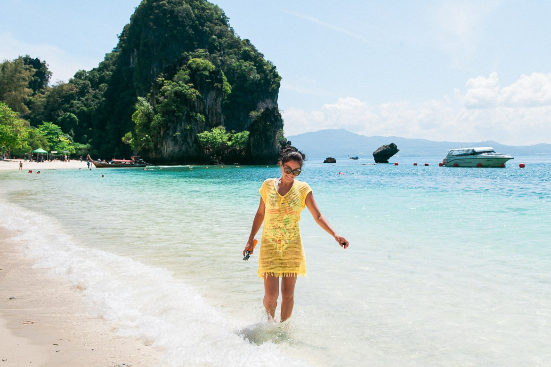 Hong Beach, uma das praias mais lindas da Tailândia