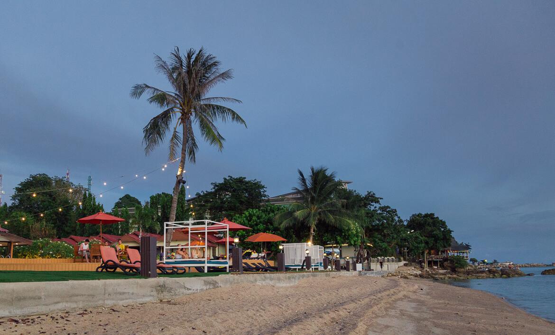 Entardecer em Koh Phangan   Viajando na Janela