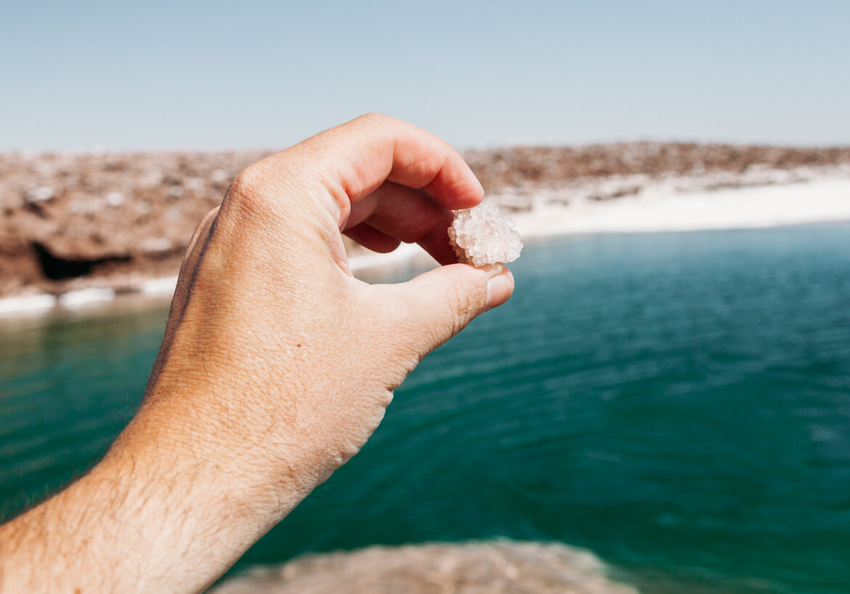 Lagunas Escondidas de Baltinache | cristais de sal