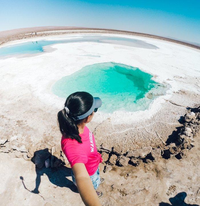 Lagunas Escondidas de Baltinache, Deserto do Atacama