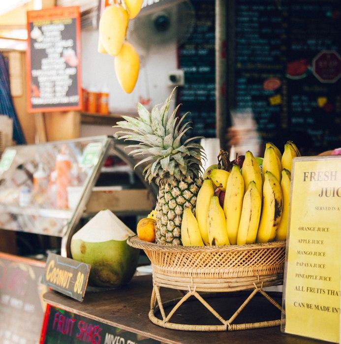 Railay Beach: onde comer