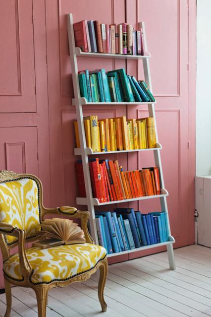 estante para livros criativa