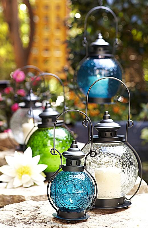 O charme das lanternas na decoração!
