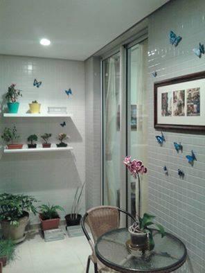 varanda apartamento Lissandra Bischoff
