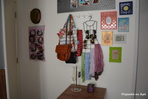 decoracao parede closet quadros