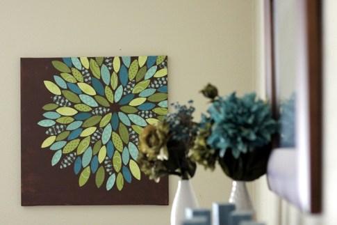 arte tela de pintura diy