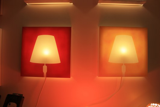 tela iluminada ideias