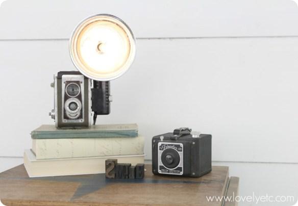 camera fotografica luminaria diy faca voce mesmo ideias criativas