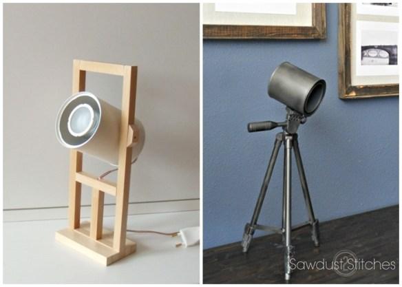 luminaria latas diy faça voce mesmo ideias criativas luminaria mesa