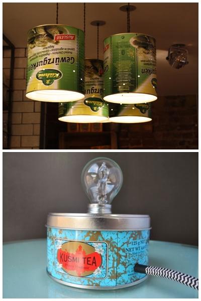 luminaria latas diy faça voce mesmo ideias criativas