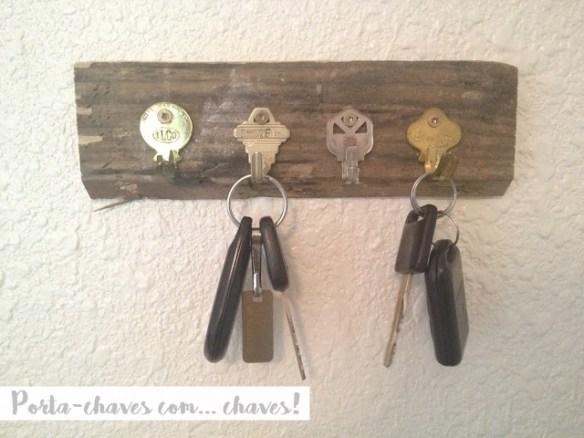 port chaves feito com chaves diy faca voce mesmo