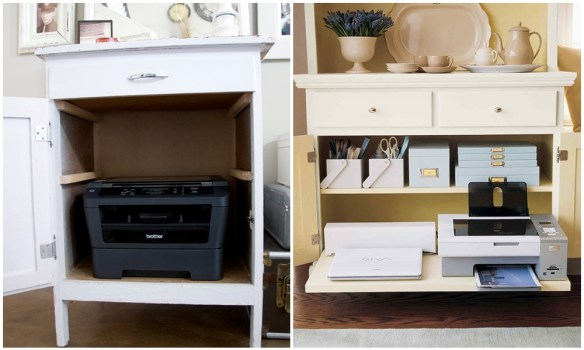 lugar para impressora casa apartamento