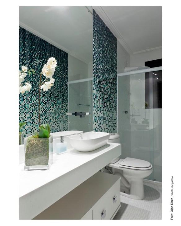 banheiros decorados pastilhas degrade