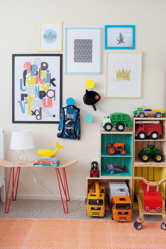 caixotes organizacao brinquedos carrinhos