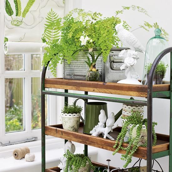 carrinho plantas varanda sacada decoracao 2