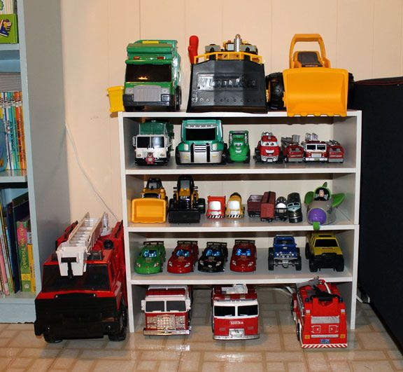 como organizar brinquedos ideias carrinhos