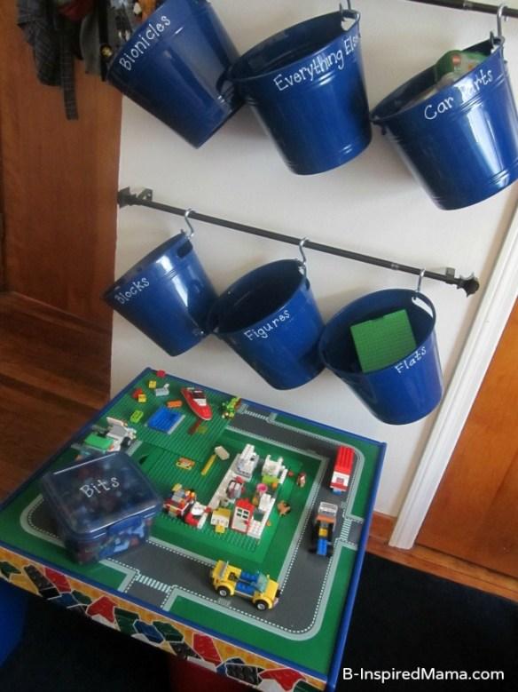 como organizar guardar lego