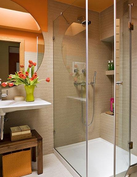espelho redondo banheiro decoracao