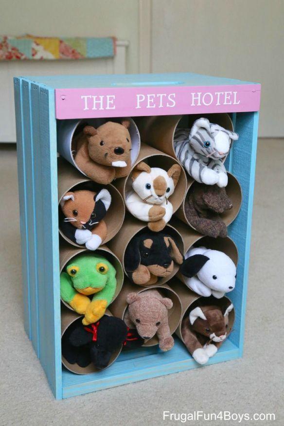 ideias organizacao bichinhos ursinhos pelucia brinquedos organizados