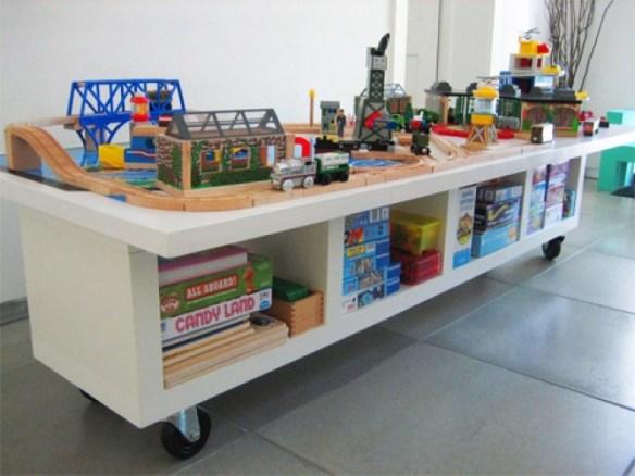 mesa organizadora jogos brinquedos