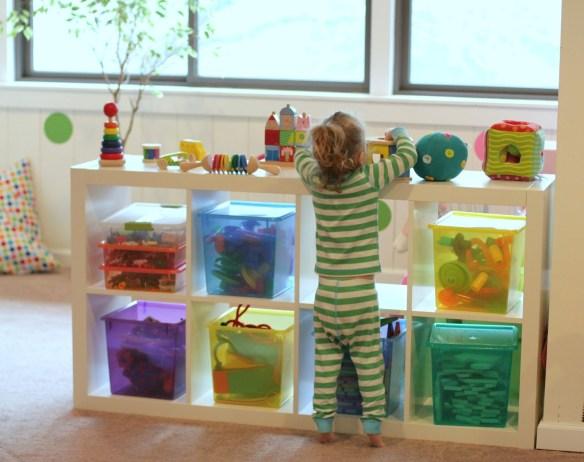 organizacao brinquedos caixas