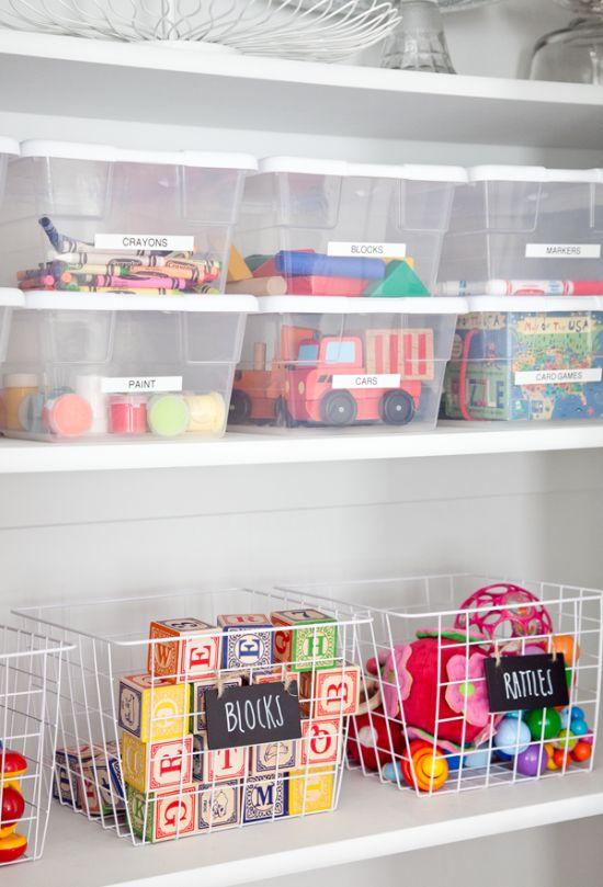 organizacao brinquedos ideias quarto infantil