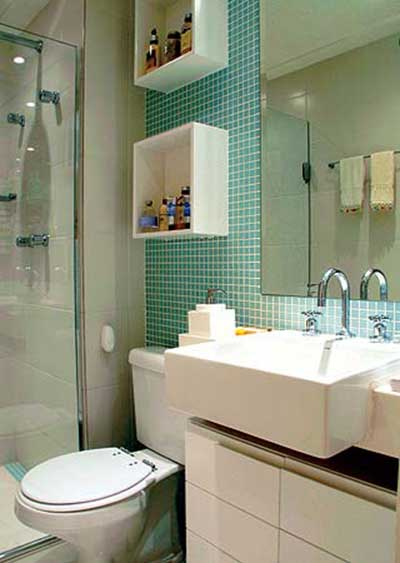 pastilhas verdes decoracao banheiros cuba semi encaixe
