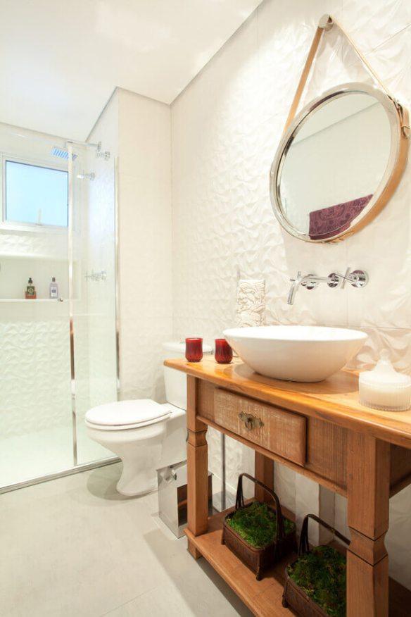 revestimento 3d banheiros decoracao