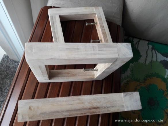 suporte para vasos de parede madeira faca voce mesmo diy suporte suspenso vaso jardim vertical como fazer