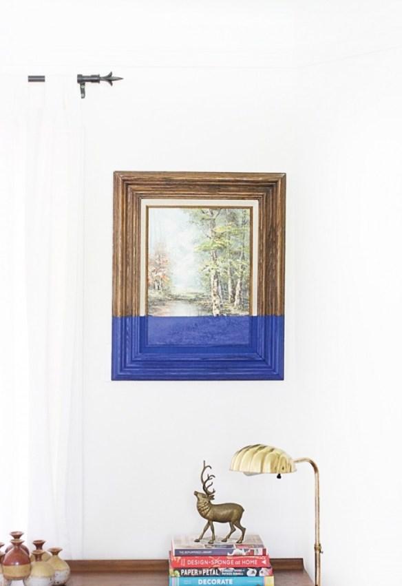 decoracao molduras quadros personalizacao ideias diferentes dipped paint diy faca voce mesmo